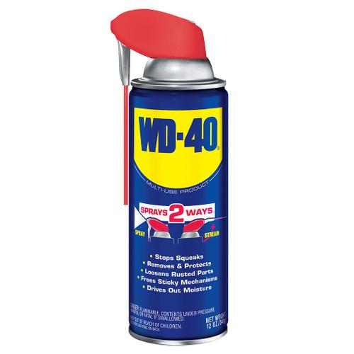 WD-40 Spray Lubricant Smart Straw Spray, 12 oz.