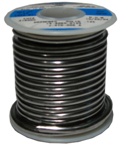 Alpha Metals Solid Core Solder, 40% Tin,1 lb.