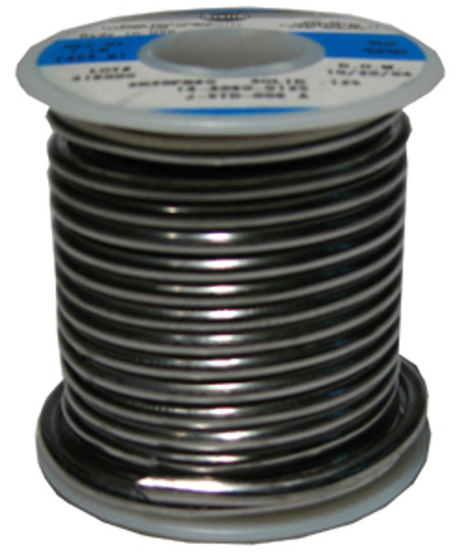 Alpha Metals Solid Core Solder, 50% Tin, 1 lb.