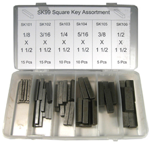 Fastener Barn Square Key Assortment