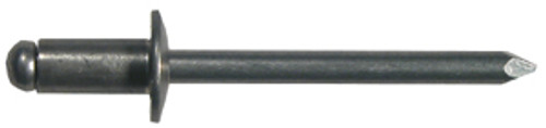 "Marson Standard Blind Buttonhead Aluminum Rivets, 5/16"" - 3/8"" grip range, 1/8"" dia., 500/pkg."