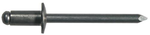 "Marson Standard Blind Buttonhead Aluminum Rivets, 1/4"" - 3/8"" grip range, 3/16"" dia., 50/pkg."