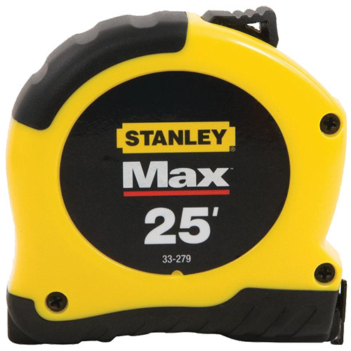 Stanley Max Tape Rule, 25'