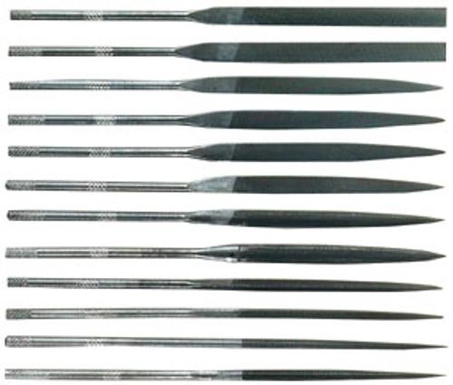 General 12-Piece Swiss Pattern Needle File Set