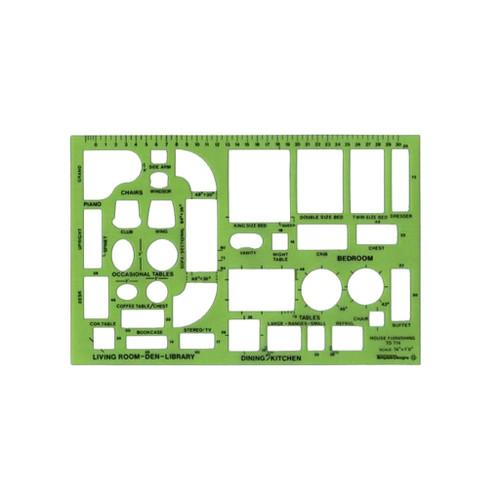 Alvin Design Templates House Furnishings Template