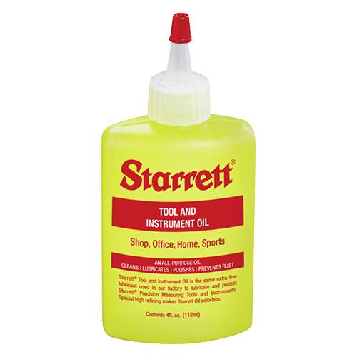 Starrett Tool & Instrument Oil, 4 oz.