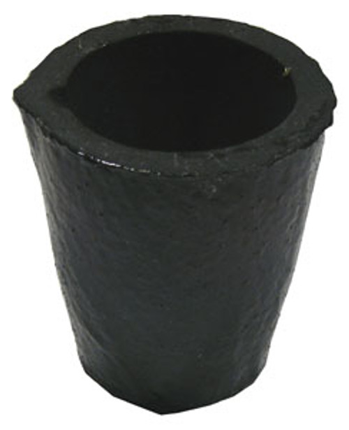 "Bay State Graphite Crucible, Top Pour, 9-1/4""H x 7-1/2"" dia."