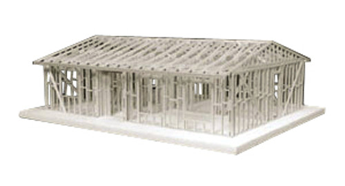 Midwest Products Truss Roof House Framing Kit