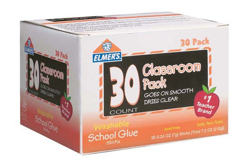 Elmer's All Purpose School Glue Sticks, Qty. 30