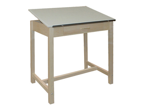 "Hann Drawing Tables Full-Top Table, 36""W x 24""D x 37""H"