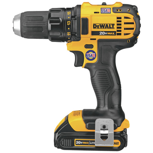 DeWalt 1/2-in. 20V MAX Lithium Ion Compact Drill/Driver Kit