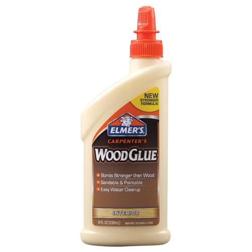 Elmer's Carpenter's Interior Wood Glue, 8 oz.