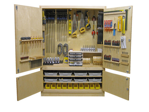 """Hann 60"""" Woodworking Tool Cabinet Only"""