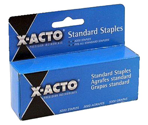 """X-Acto  Electric Stapler, 1/4"""" Staples"""