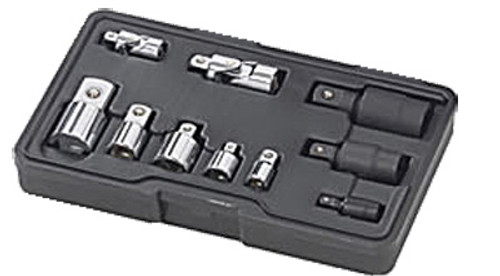"""GearWrench 1/4"""", 3/8"""" & 1/2"""" Universal Adapter Sockets, 10-Piece Set"""