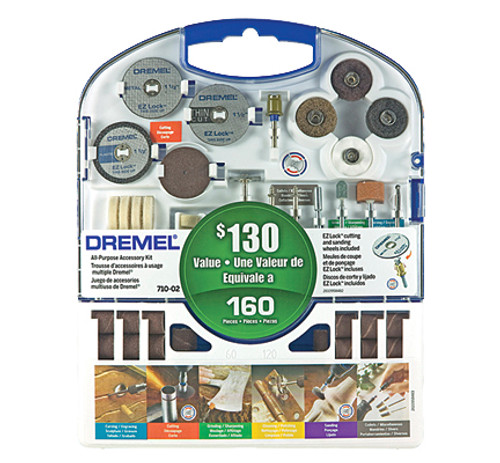 Dremel Rotary Tool Super Accessory Kit, 160-Piece