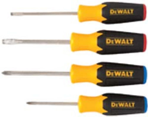 DeWalt Magnetic Combination Screwdriver Set, 4-Piece