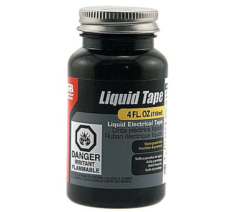 Gardner Bender Liquid Electrical Tape, Black