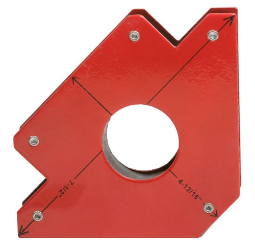 """Forney Magnetic Holding Clamp, 4-3/16""""H x 7-1/2""""W"""