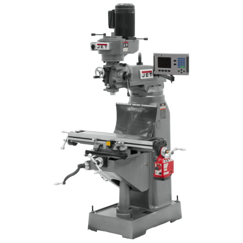 JET  JVM-836-1 Mill with ACU-RITE 200S DRO with  X-Axis Powerfeed