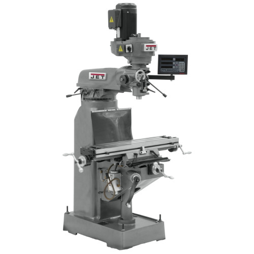 JET  JVM-836-3 Mill with DP700-DRO with X-Axis Powerfeed