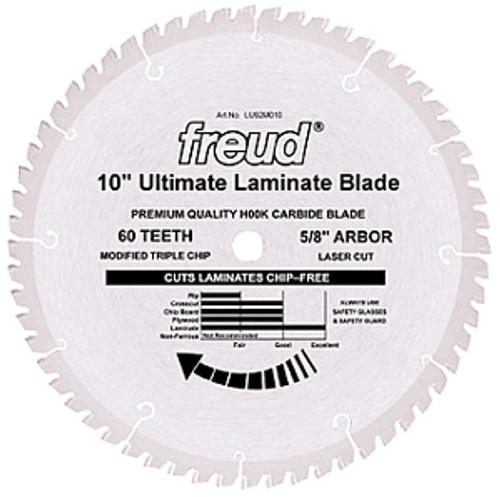 "Freud Sliding Miter LU91R CT Crosscut Saw Blade 10"" x 60T"