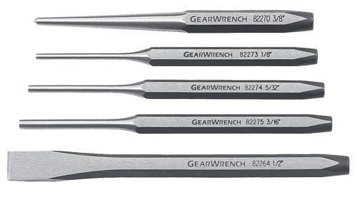 GearWrench Punch & Chisel Set, 5-Piece