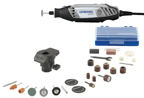 Dremel 3000 Variable Speed Rotary Tool Kit, 24-Piece