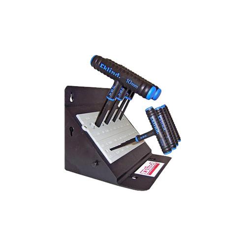 "Eklind Power-T T-Handle Hex Key Set Metric 8-Piece, 6"""