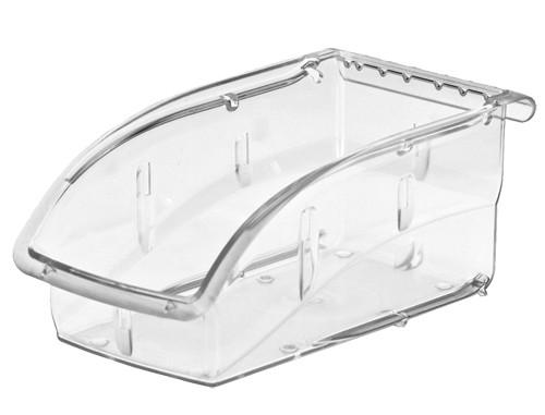 """Akro-Mils InSight Clear Storage Bin, 4-1/8""""W x 3-1/4""""H x 10-7/8""""L"""