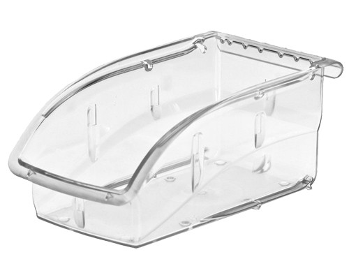 "Akro-Mils InSight Clear Storage Bin, 5-1/2""W x 5-1/4""H x 10-7/8""L"