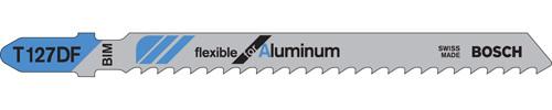 """Bosch T-Shank Bi-metal Jig Saw Blades, Metal 4""""L x 8 TPI 5/pkg."""