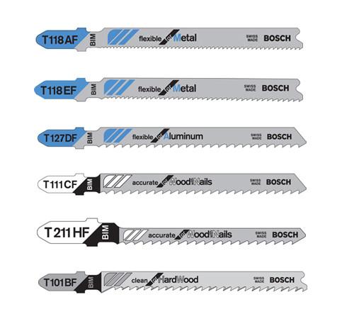 Bosch T-Shank Bi-metal/HSS Jig Saw Blade Set, 30-Piece