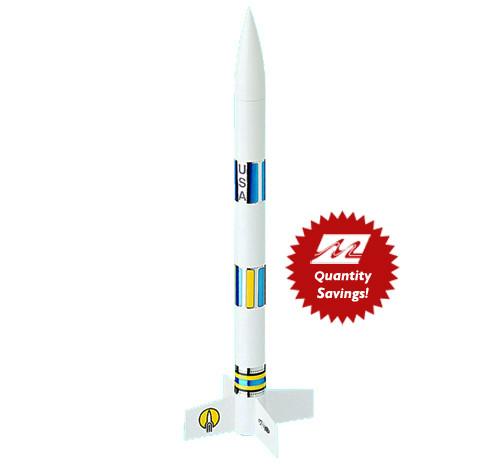 Estes AVG EX2 Rocket