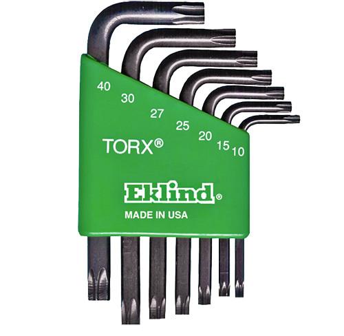 Eklind Torx Key Set L-Key Molded Holder 7-Piece Short