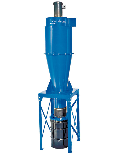 Donaldson 2-Stage Cyclone Dust Collector, 10 HP