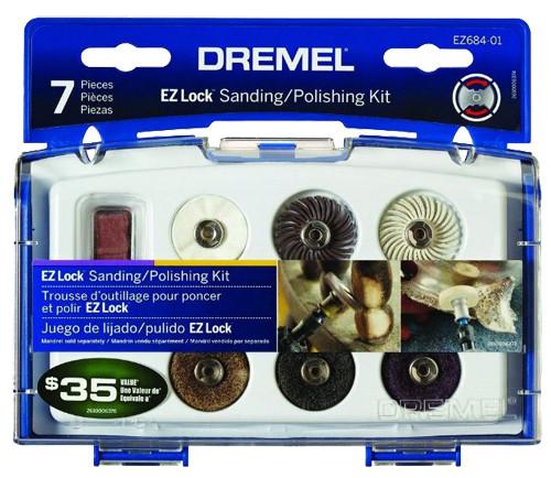 Dremel Rotary Tool Sanding/Polishing Set, 7-Piece