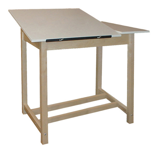 Hann Adjustable Top Drawing Table, Split-top Table