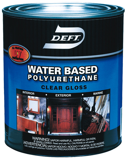 Deft Water-based Polyurethane, Gloss, Gal.
