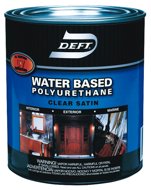 Deft Water-based Polyurethane, Satin, Gal.