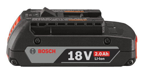 Bosch Lithium-Ion SlimPack Battery, 18V