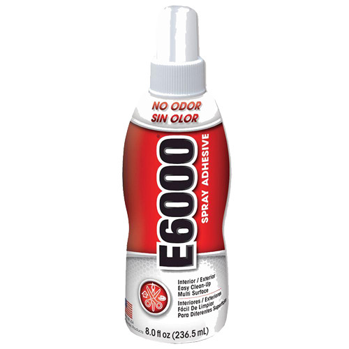Eclectic E6000 Spray Adhesive, 8 oz.