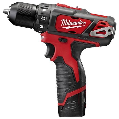 "Milwaukee 3/8"" M12 Cordless Drill, 12V"