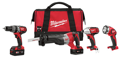 Milwaukee 18V M18 Li-ion 4-Tool Combo Kit