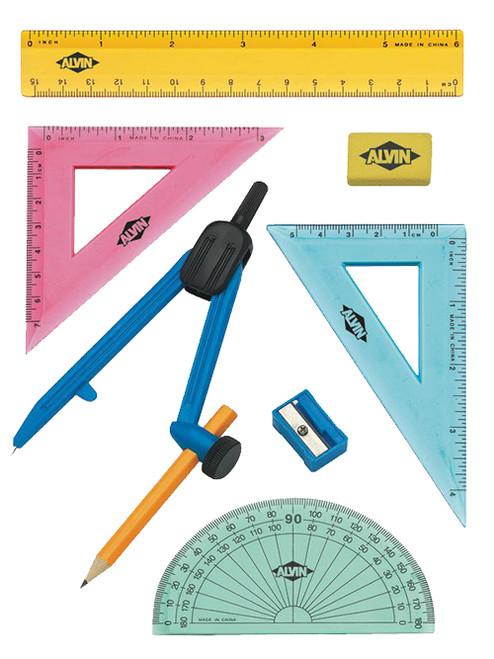Alvin 8-Piece Geometry Set