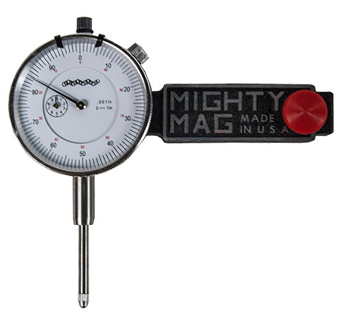 "Flexbar Mighty Mag w/1"" Travel Indicator"