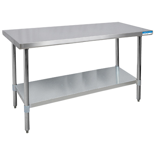 """Diversified Woodcrafts Stainless Steel Table, 72""""W x 30""""D x 35""""H"""