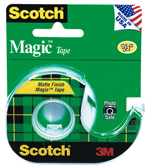 "3M Scotch Tape, 1/2"" x 800"""