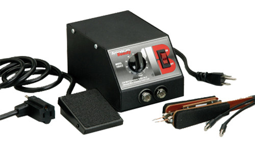 American Beauty Light Capacity Tweezer-Style Resistance Soldering System