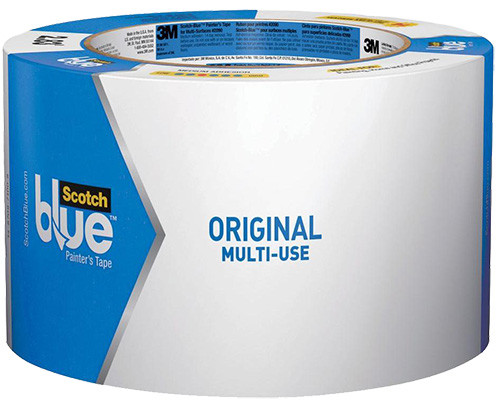 "3M ScotchBlue Original Painter's Tape, 3"" x 60 Yd."